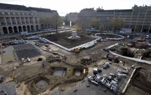 A Kossuth tér átalakítása