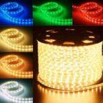 Remek díszítőelem a LED fénykábel